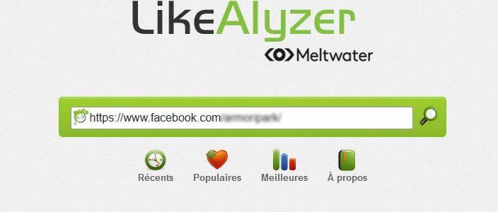 Likealyser : pour tout savoir des performances de votre page Facebook (ou de celle de vos concurrents)