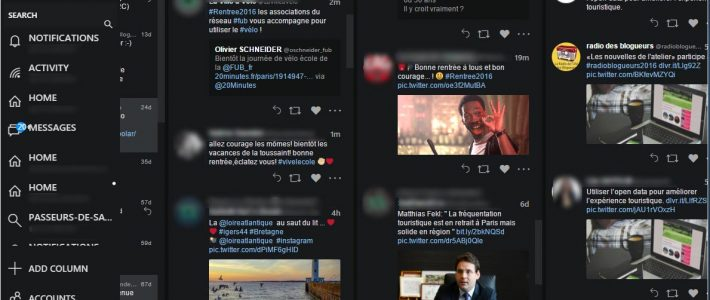 Tweeten : le client TweetDeck multi plateformes